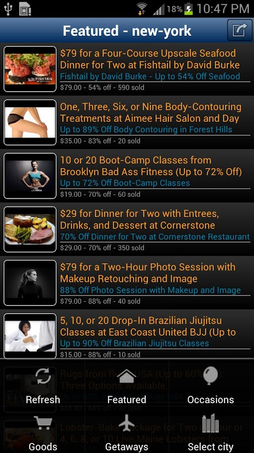 InoDeals Daily Deals Shop FREE - screenshot