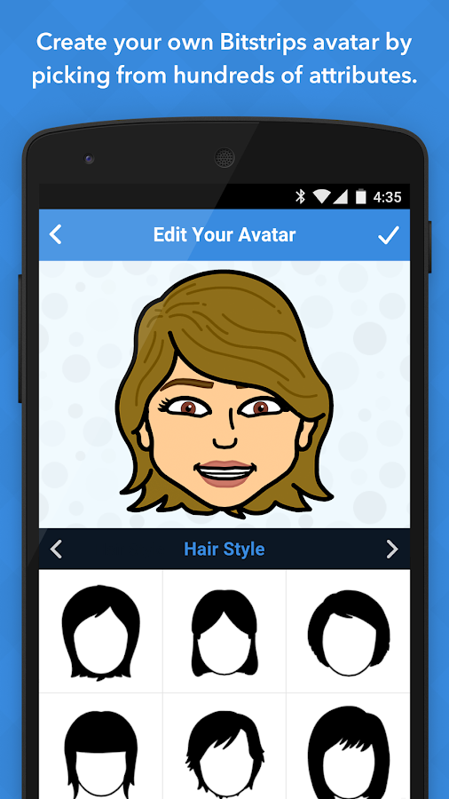 Bitstrips- screenshot