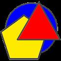 Geometric Shapes Geometry Quiz icon