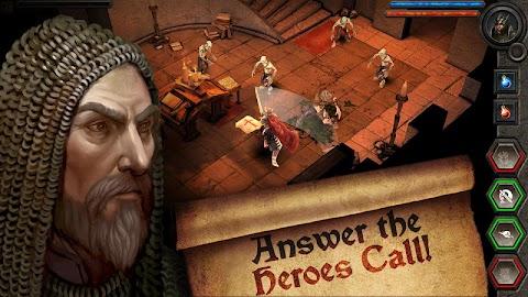 Heroes Call Screen