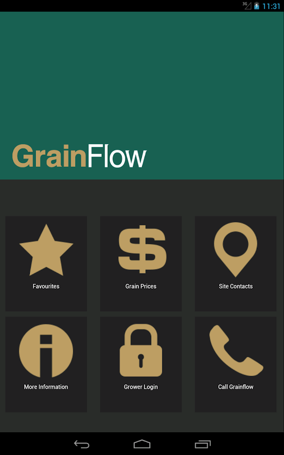 GrainFlow- screenshot