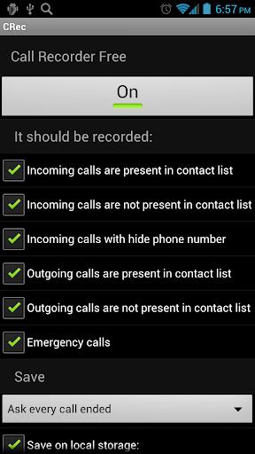 CRec FREE Call Recorder