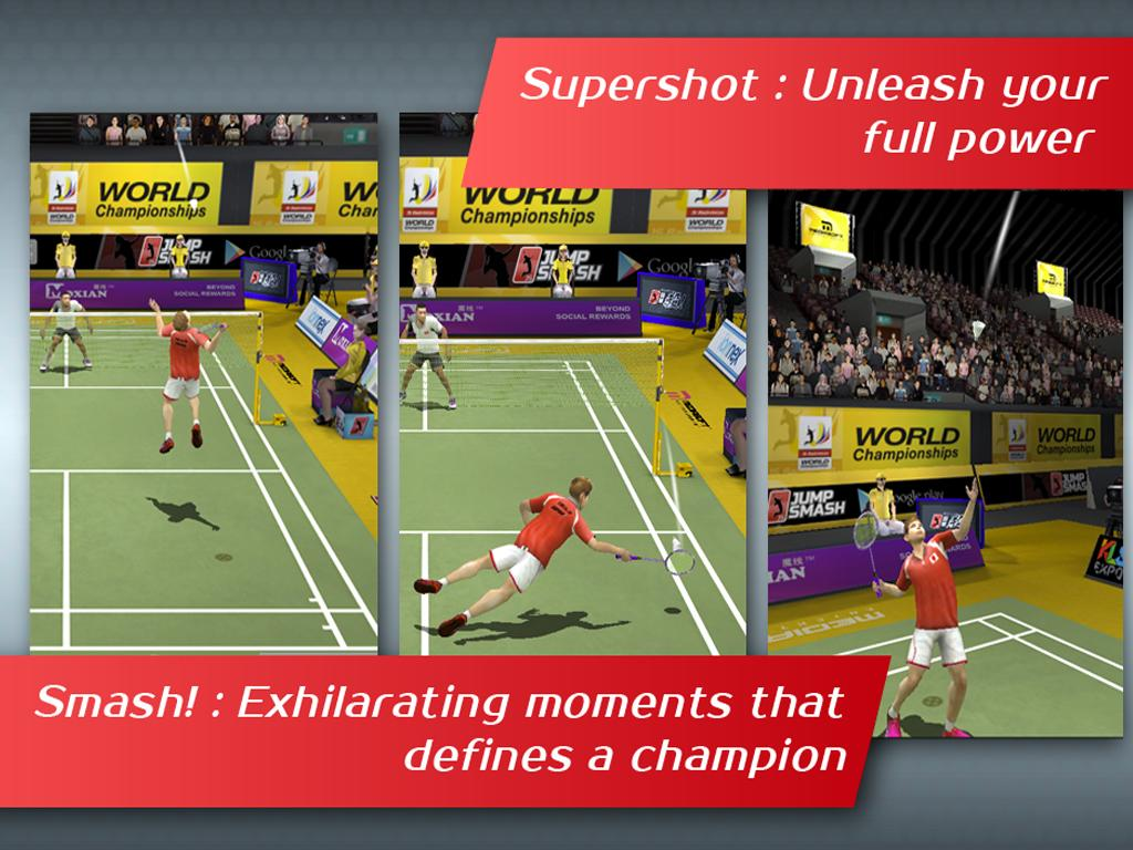 Badminton: Jump Smash™ - screenshot