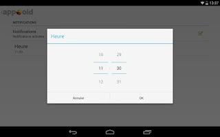 Screenshot of appXoid