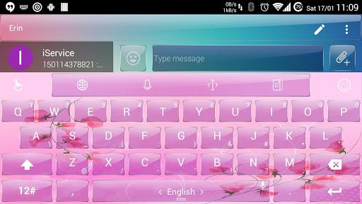 玩免費個人化APP|下載键盘主题 PinkGlas app不用錢|硬是要APP