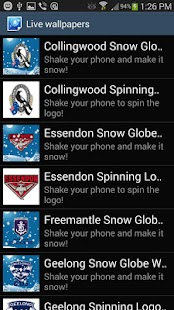 Collingwood Snow Globe- screenshot thumbnail