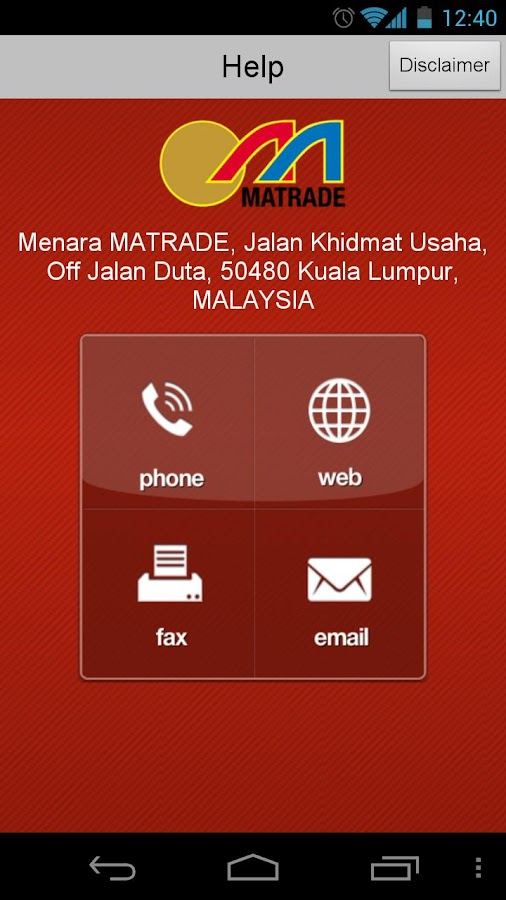 MyExport - screenshot