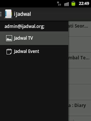 Jadwal TV Event