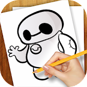 Learn to Draw Big Hero 6