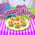 Blue Berry Muffins Cooking icon