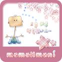 NK 카톡_모모N모니_체크패브릭a 카카오톡테마 icon