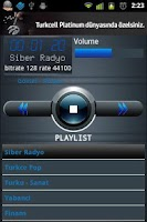 Screenshot of Siber Radyo