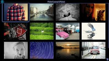 Screenshot of TV Slideshows for Google TV