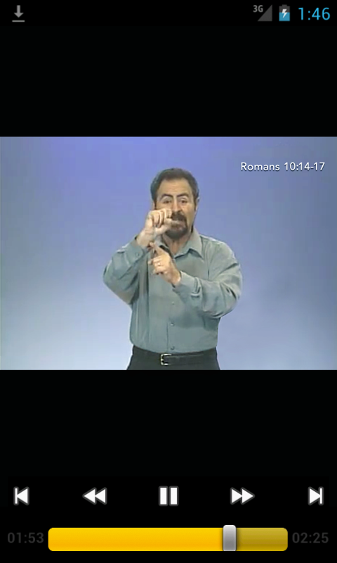Deaf Bible - screenshot