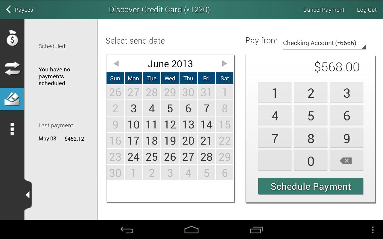 Triangle Credit Union - screenshot