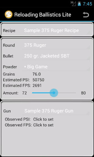375 Ruger Ballistics Data