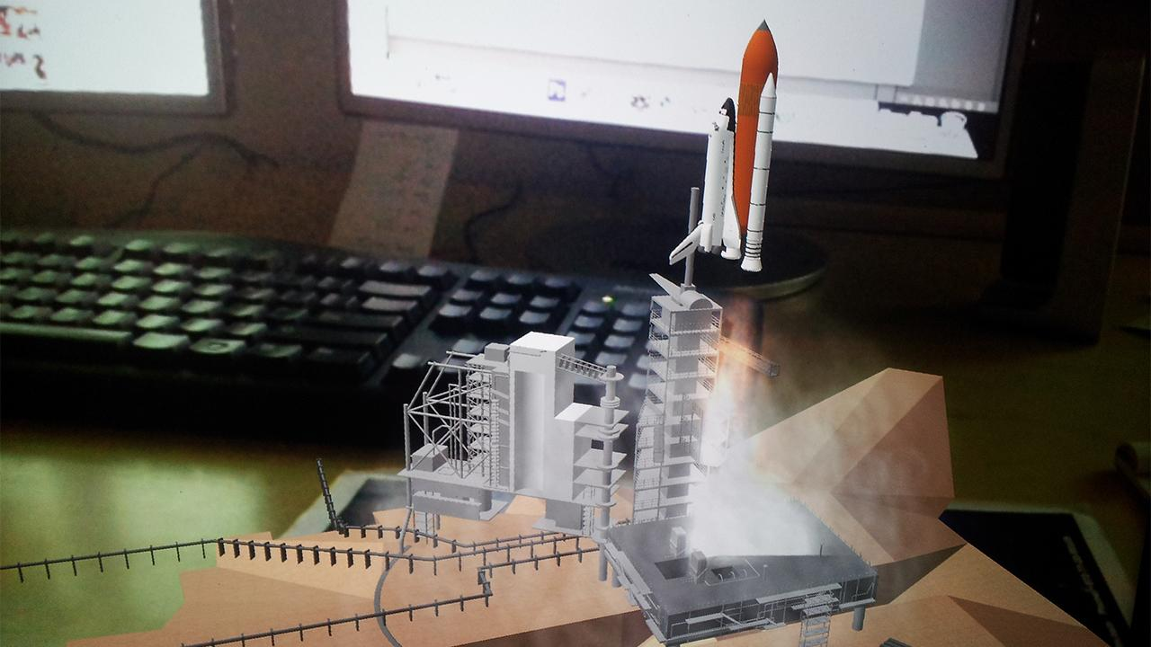 Spaceship AR - screenshot