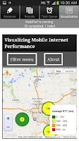Screenshot of MobiPerf