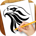 Learn to Draw Tattoo Tribal icon