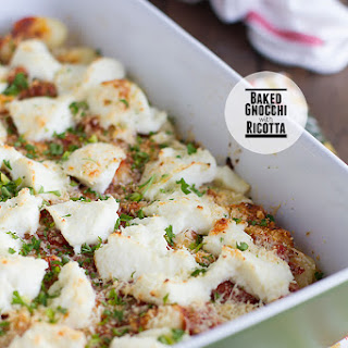 Baked Gnocchi with Ricotta.