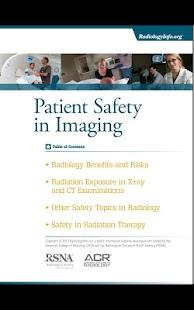 RadiologyInfo.org - screenshot thumbnail