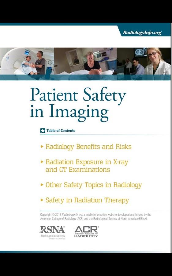RadiologyInfo.org - screenshot