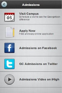 Georgetown College - screenshot thumbnail