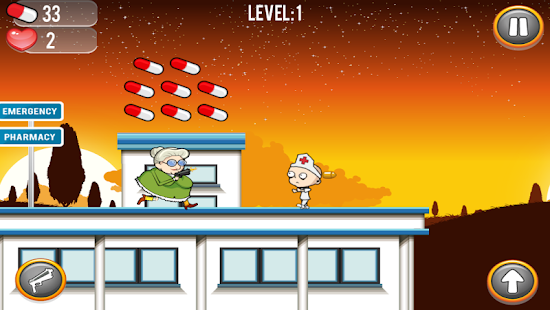 Running Granny Against Zombie- screenshot thumbnail