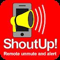 ShoutUp! Pro SMS unmute alert icon