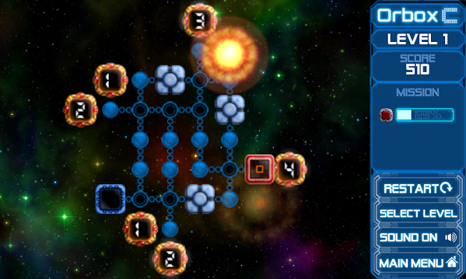 Space Box - screenshot