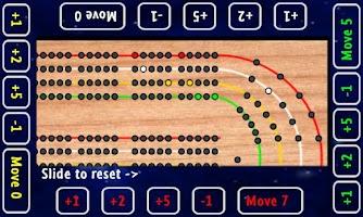 Screenshot of Cribbage Board