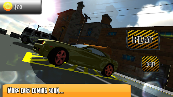 3D Car Park- screenshot thumbnail