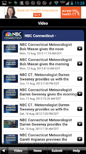 NBC Connecticut Weather - screenshot thumbnail