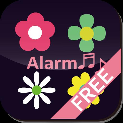 [FREE]フラワーフロウ!クロックライブ壁紙 個人化 App LOGO-硬是要APP