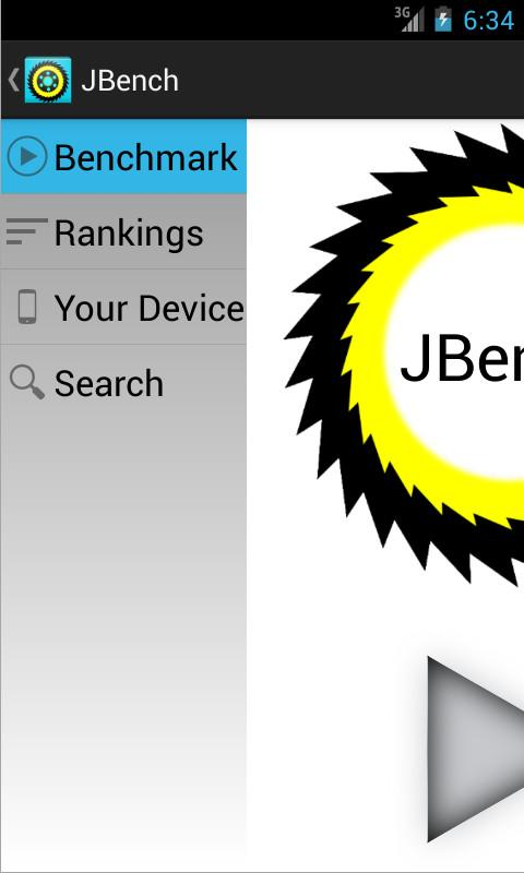 JBench: The social benchmark- screenshot