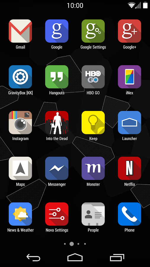 iNex - Icons - screenshot