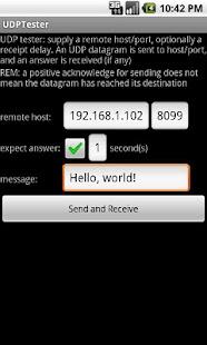 UDP Tester