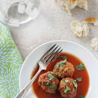 Crockpot Tex-Mex Meatballs