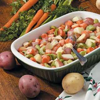 Vegetable Chicken Casserole.
