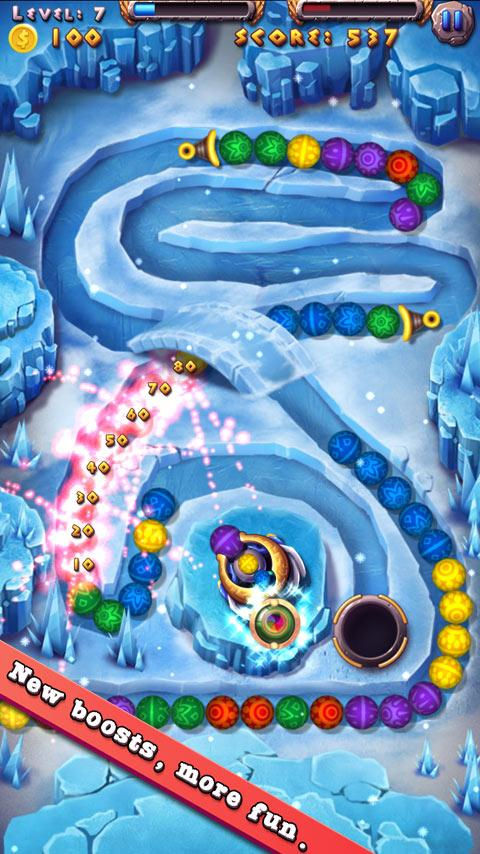 Marble Blast Mania- screenshot