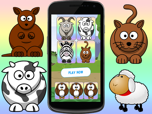 Dumb Animals Memory Game 2015