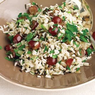 Wild-Rice Pilaf with Rosemary and Red Grapes