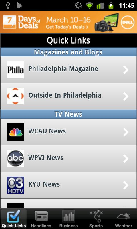 Philadelphia Local News - screenshot