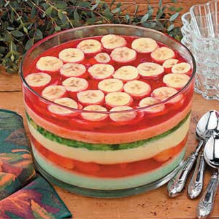 Six-Layer Gelatin Salad