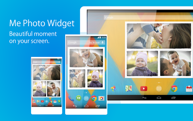 Me Photo - Photo frame widget - screenshot