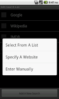 Screenshot of Spiffy Search