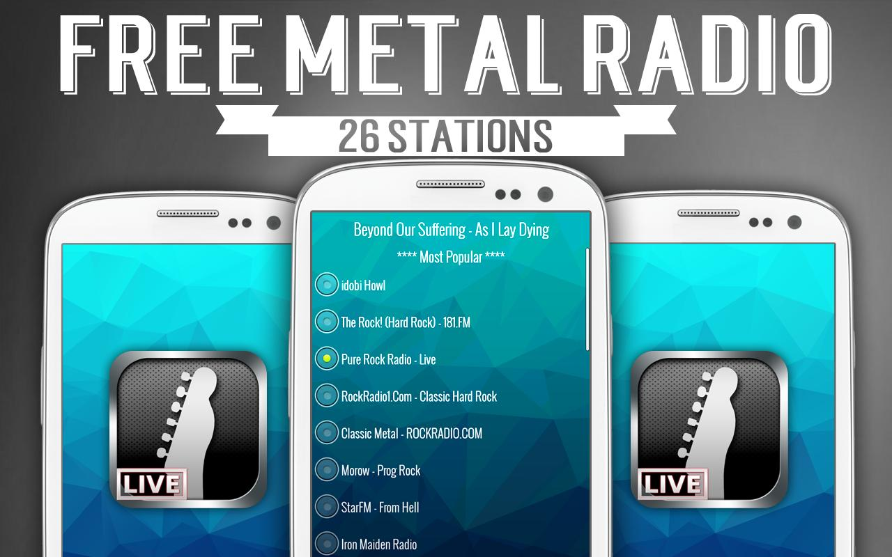 Free Metal Radio - screenshot