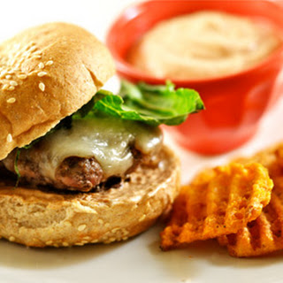 Jalapeno Burgers with Chipotle Mayo.