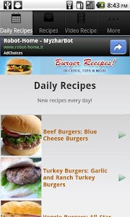 Burger Recipes!- screenshot thumbnail