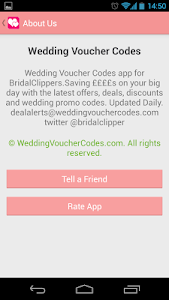 Wedding Voucher Codes screenshot 2